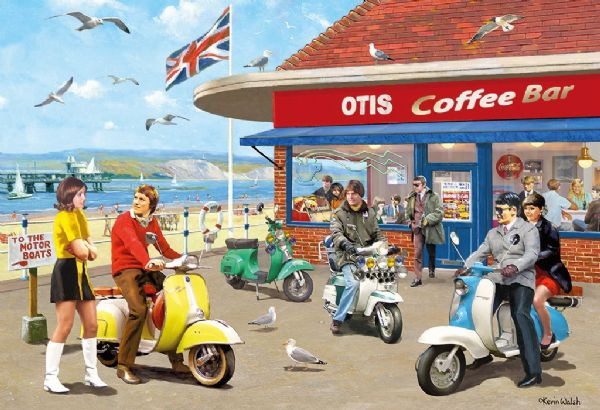 Mods and Rockers. 2 x 500 piece jigsaws by Gibsons. G5036